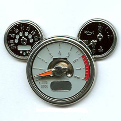 Disney MINI gauges pin