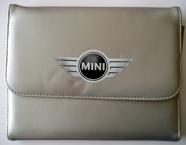 silver MINI manuals case
