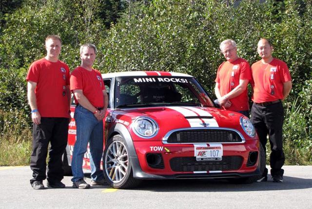 MINI Canada Targa Newfoundland Team 2011