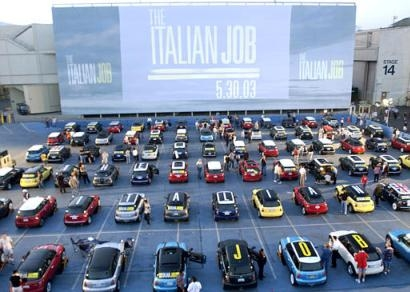 The Italian Job premiere in Los Angeles