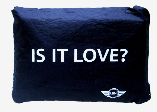 IS IT LOVE? windscreen cover bag