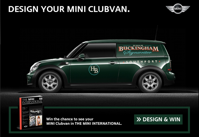 MINI Clubvan Designer on Facebook