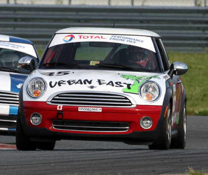 Urban East Racing MINI Cooper No. 35
