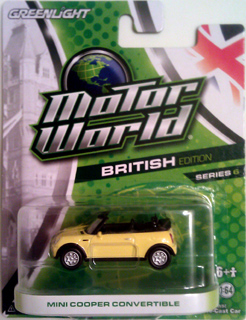 GreenLight MotorWorld MINI Cooper Convertible