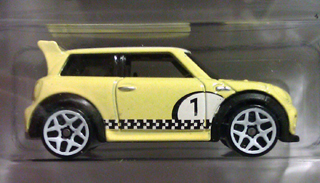 2012 Hot Wheels MINI CHALLENGE in yellow
