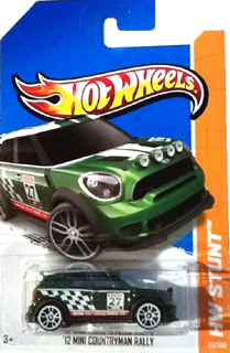 Hot Wheels 2012 MINI Countryman Rally