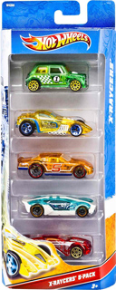 2012 Hot Wheels X-Raycers 5-Pack