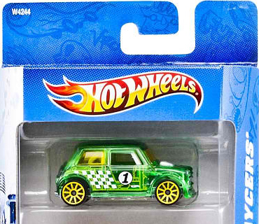 2012 Hot Wheels X-Raycers Morris Mini