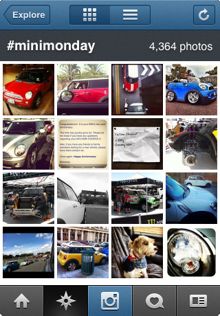Instagram #minimonday