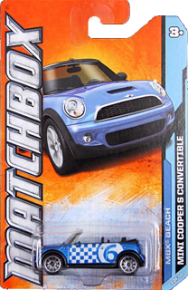 Matchbox 2012 MINI Cooper S Convertible