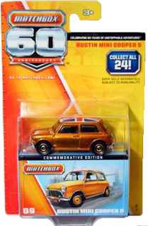 Matchbox 60th Anniversary Austin Mini Cooper S (2013)