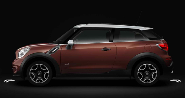 MINI UK Configurator 2013 MINI Paceman (Brilliant Copper)