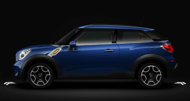 MINI UK Configurator 2013 MINI Paceman (Starlight Blue)