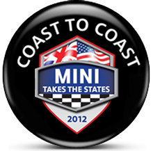 MINI Takes the States 2012 COAST TO COAST virtual badge