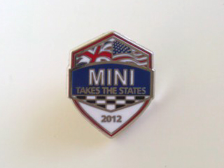MINI Takes the States 2012 lapel pin