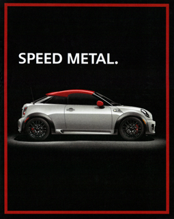 SPIN SPEED METAL. print ad