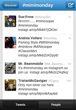 Twitter #minimonday