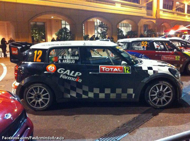 Rallye Monte-Carlo MINI No. 12 Day 4