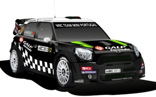 WRC Team MINI Portugal No. 12