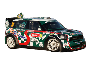 WRC Team MINI Portugal No. 14