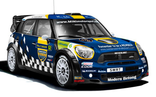 Sweden World Rally Team MINI WRC