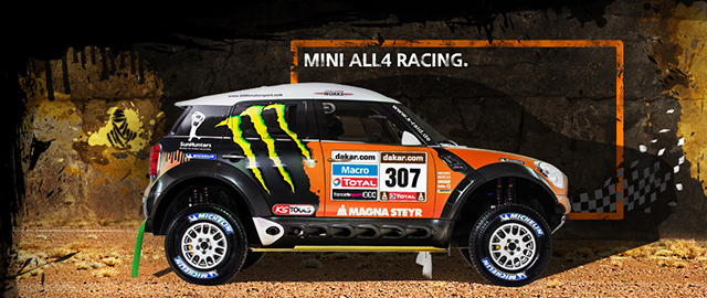 Dakar 2013 MINI ALL4 Racing.
