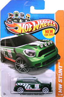 Hot Wheels 2012 MINI Countryman Rally (green)