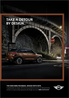 TAKE A DETOUR BY DESIGN.