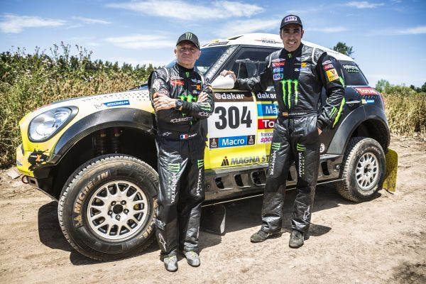 Dakar 2014 X-raid Team MINI 304