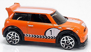 Hot Wheels 2014 MINI CHALLENGE in orange