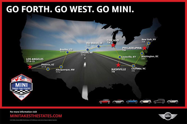 MTTS 2012 Route Map