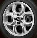 4-Hole Spoke Alloy Wheel