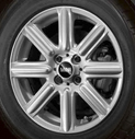 Rib Spoke Alloy Wheel