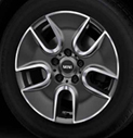 Tunnel Spoke Alloy Wheel Anthracite
