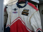 Fresh from Florida 200: driver's suit