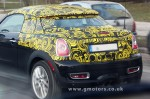 MINI Coupé spy photo from Gmotors.co.uk