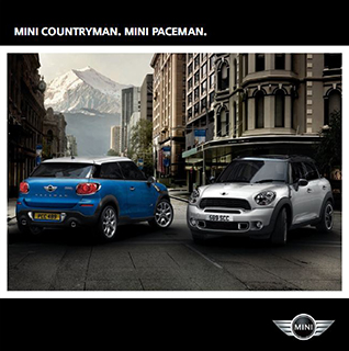 MINI COUNTRYMAN. MINI PACEMAN. brochure (cover)