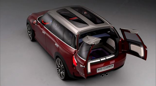 MINI Clubman Concept video