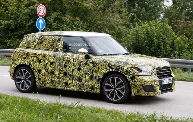 autoevolution MINI Countryman Spy Photo