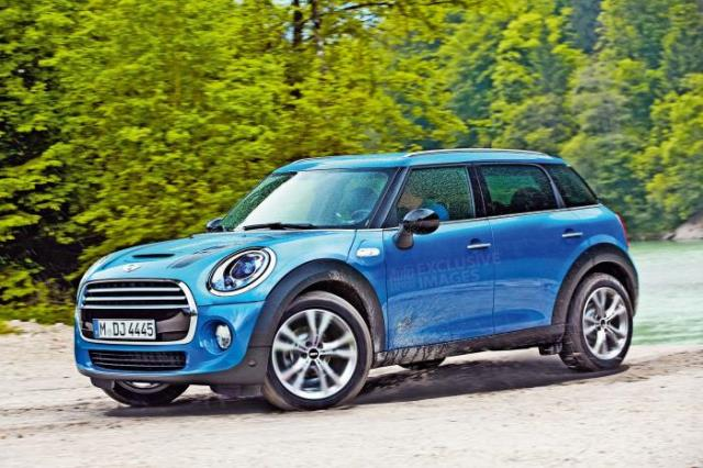 Auto Express MINI Countryman Rendering
