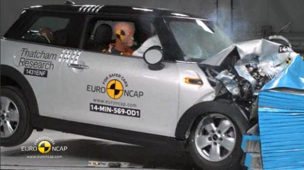 Euro NCAP 2014 MINI Hardtop