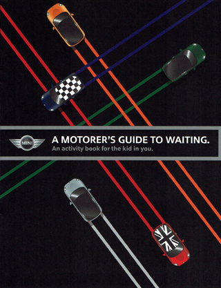 A Motorer's Guide to Waiting activity book