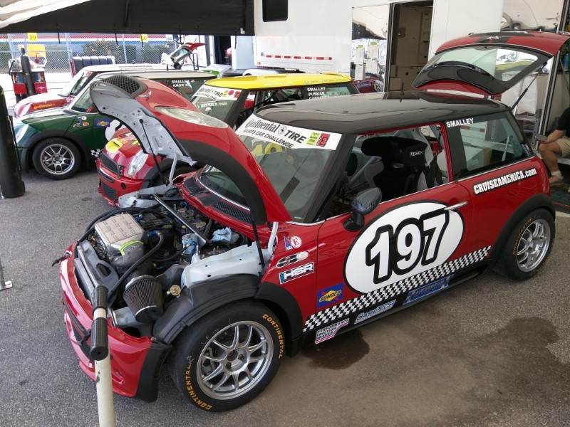 RSR Motorsports Garage at the Daytona Historics