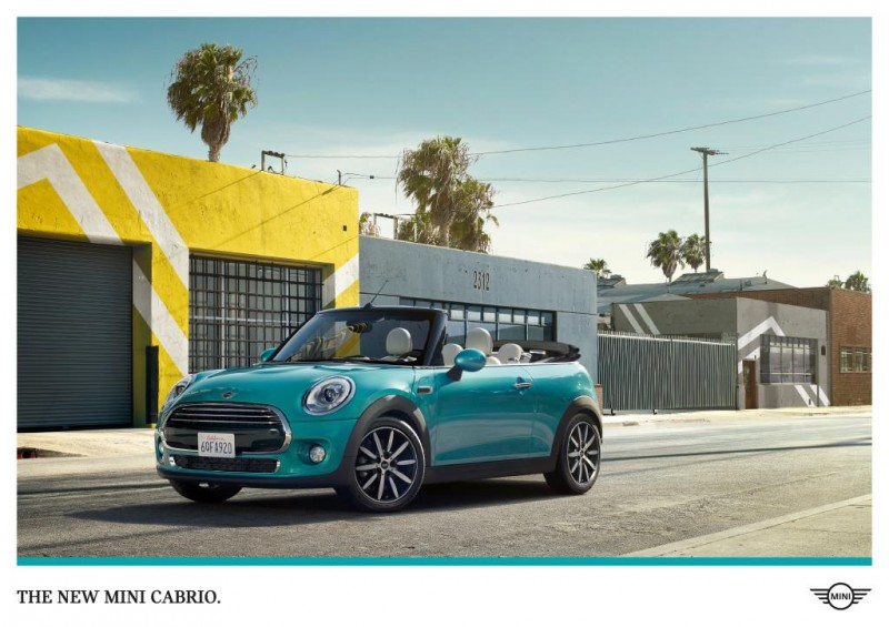 "The MINI Convertible ""Stay Open"" campaign"