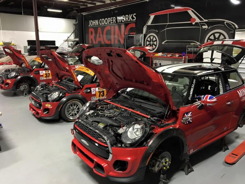 MINI JCW Team Daytona 2016