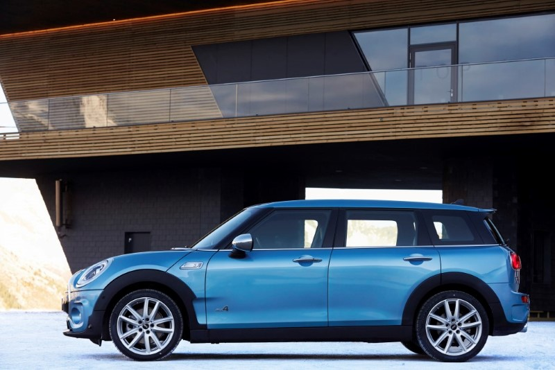 Press Kit The New Mini Clubman All 4 Library Of Motoring An