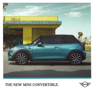 The New MINI Convertible brochure