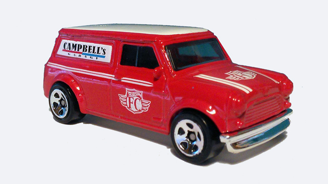 2016 Hot Wheels '67 Austin Mini Van