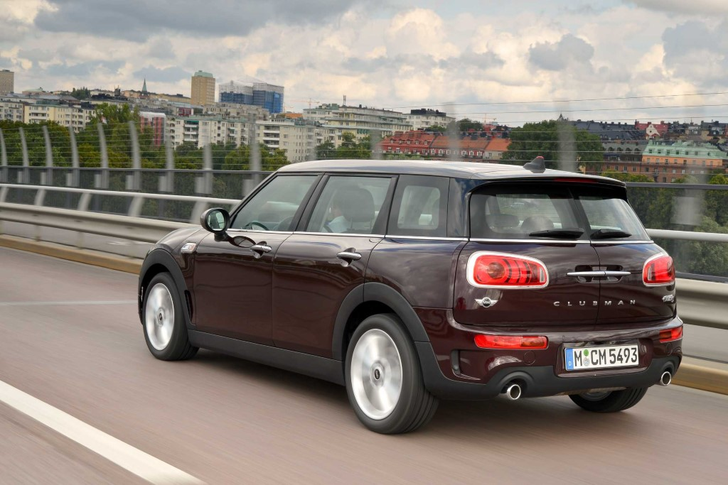 Mini Cooper S Clubman Pure Burgundy Library Of Motoring An