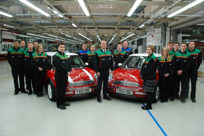 15 Years of MINI Production at Plant Oxford